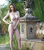 post naked outdoors