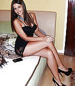 heels black dress