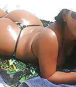 beach babe pretty