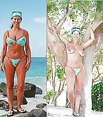 bikini milf top