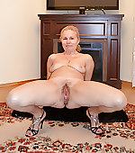 wife legs spreads