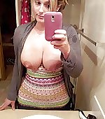 selfie boobs