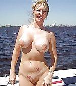 busty milf sea