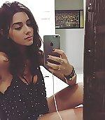 girl cute mirror