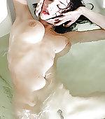playing bath