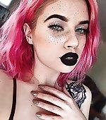 black lips pink
