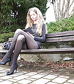 girl legs pantyhose