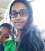 girl beautiful glasses