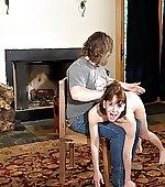 post girls spanked