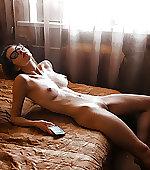 bed relaxing