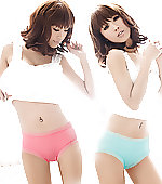 panties colored pastel