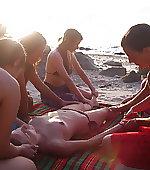 loving group massage