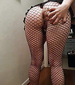 wife fishnets