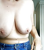 tits jeans pantyhose