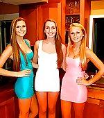 three blondes