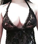 black peek lace