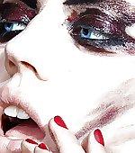 lips eyes nude