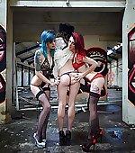 fun threesome