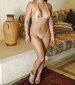 bikini pic post