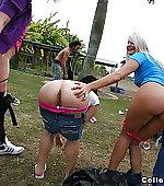 amp spanking mooning
