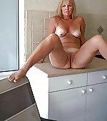 wife legs spreading