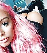 amp pink hair
