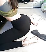 ass pants yoga