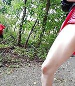 [f] woods hike
