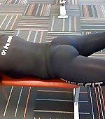 ass gym tight