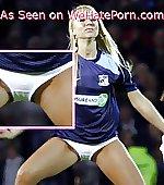 blonde display panty