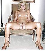 open legs chair