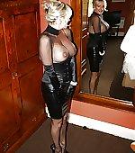 blonde busty mirror