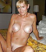 blonde busty cougar