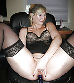 wife toying