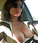 selfie topless