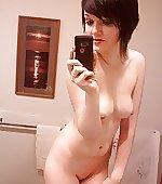 taking mirror snap
