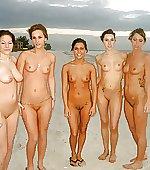 girls beach loving