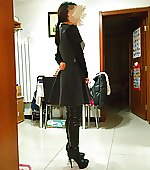 dressed boots dress