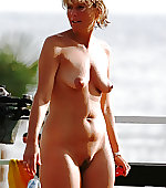 wife naked outdoor