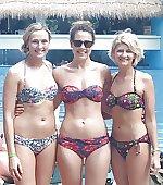 3 girls 3 bikinis