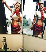 Mexican tv hostess
