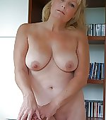 Hot naked blonde