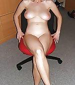 Seated milf