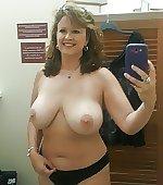 Changing room selfie