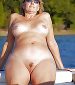 Hot naked mom