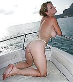 39f naked on a pier