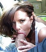 Sucking on a big