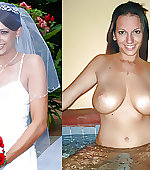 Wedding before and