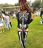 Bones leotard