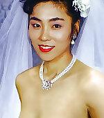 Milky japanese bride